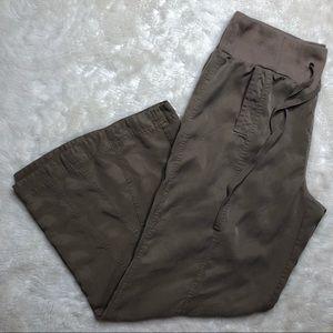 Soft Surroundings Wide Leg Pants Tan Size Large